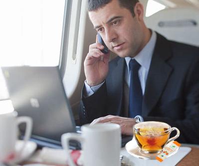 Tea For Business Trip